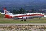 りんたろうさんが、小松空港で撮影した日本トランスオーシャン航空 737-446の航空フォト(写真)