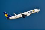 パンダさんが、羽田空港で撮影したスカイマーク 737-8Q8の航空フォト(飛行機 写真・画像)