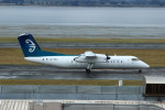 resocha747さんが、オークランド空港で撮影したエア・ニュージーランド・リンク DHC-8-300の航空フォト(写真)