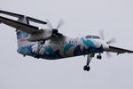 xxxxxzさんが、福岡空港で撮影した天草エアライン DHC-8-103Q Dash 8の航空フォト(飛行機 写真・画像)