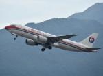 こじゆきさんが、香港国際空港で撮影した中国東方航空 A320-214の航空フォト(写真)