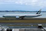 resocha747さんが、オークランド空港で撮影したキャセイパシフィック航空 777-367/ERの航空フォト(写真)
