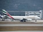 こじゆきさんが、香港国際空港で撮影したエミレーツ航空 747-4HAF/ER/SCDの航空フォト(写真)