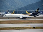 こじゆきさんが、香港国際空港で撮影したUPS航空 MD-11Fの航空フォト(写真)