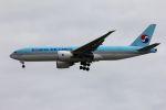やまちゃんさんが、仁川国際空港で撮影した大韓航空 777-FEZの航空フォト(写真)