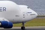 yabyanさんが、中部国際空港で撮影したボーイング 747-409(LCF) Dreamlifterの航空フォト(飛行機 写真・画像)