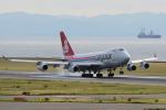 yabyanさんが、中部国際空港で撮影したカーゴルクス 747-4R7F/SCDの航空フォト(飛行機 写真・画像)