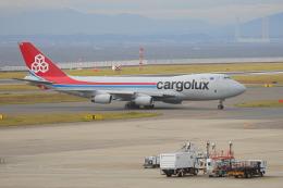 じゃりんこさんが、中部国際空港で撮影したカーゴルクス 747-4R7F/SCDの航空フォト(写真)