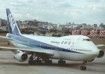 新城良彦さんが、伊丹空港で撮影した全日空 747-2D3Bの航空フォト(写真)