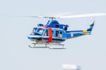 NCT310さんが、東京ヘリポートで撮影した警視庁 412EPの航空フォト(写真)