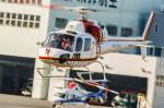 NCT310さんが、東京ヘリポートで撮影した朝日航洋 AS355F1 Ecureuil 2の航空フォト(写真)