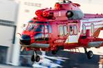 NCT310さんが、東京ヘリポートで撮影した東京消防庁航空隊 EC225LP Super Puma Mk2+の航空フォト(写真)