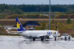 パンダさんが、新千歳空港で撮影したスカイマーク 737-86Nの航空フォト(飛行機 写真・画像)