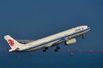 パンダさんが、羽田空港で撮影した中国国際航空 A330-343Xの航空フォト(写真)