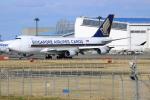 Koba UNITED®さんが、成田国際空港で撮影したシンガポール航空カーゴ 747-412F/SCDの航空フォト(写真)