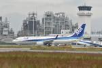 いんちょーさんが、松山空港で撮影した全日空 737-881の航空フォト(写真)