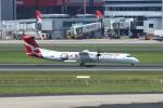 resocha747さんが、シドニー国際空港で撮影したカンタスリンク DHC-8-402Q Dash 8の航空フォト(写真)