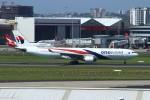 resocha747さんが、シドニー国際空港で撮影したマレーシア航空 A330-323Xの航空フォト(写真)