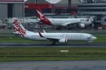 resocha747さんが、シドニー国際空港で撮影したヴァージン・オーストラリア 737-8FEの航空フォト(写真)
