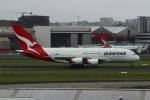 resocha747さんが、シドニー国際空港で撮影したカンタス航空 A380-842の航空フォト(写真)
