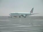 つっさんさんが、上海浦東国際空港で撮影したアリタリア航空 767-33A/ERの航空フォト(写真)