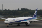 たかきさんが、成田国際空港で撮影した全日空 777-381/ERの航空フォト(写真)