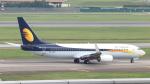 誘喜さんが、シンガポール・チャンギ国際空港で撮影したジェットエアウェイズ 737-85Rの航空フォト(写真)