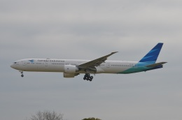 amagoさんが、成田国際空港で撮影したガルーダ・インドネシア航空 777-3U3/ERの航空フォト(写真)