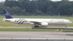 誘喜さんが、シンガポール・チャンギ国際空港で撮影したガルーダ・インドネシア航空 777-3U3/ERの航空フォト(写真)