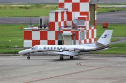 T.Sazenさんが、名古屋飛行場で撮影した中日本航空 560 Citation Vの航空フォト(写真)