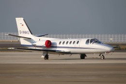 なごやんさんが、中部国際空港で撮影したHTM Jet Service 551 Citation II/SPの航空フォト(飛行機 写真・画像)