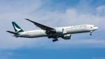 ぱん_くまさんが、羽田空港で撮影したキャセイパシフィック航空 777-367/ERの航空フォト(写真)