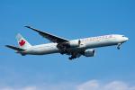 ぱん_くまさんが、羽田空港で撮影したエア・カナダ 777-333/ERの航空フォト(写真)