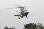 空とぶイルカさんが、群馬ヘリポートで撮影した群馬県警察 A109E Powerの航空フォト(写真)