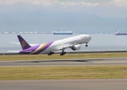 ころちゃんさんが、中部国際空港で撮影したタイ国際航空 777-3AL/ERの航空フォト(飛行機 写真・画像)