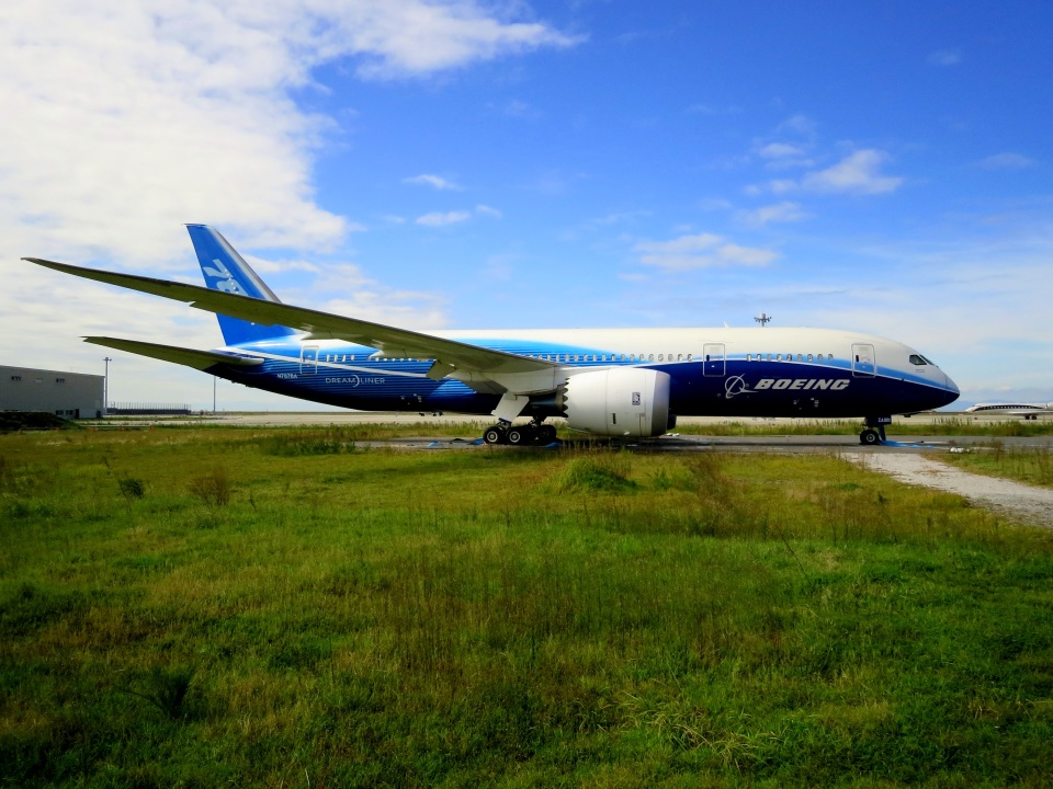 ころちゃんさんのボーイング Boeing 787-8 Dreamliner (N787BA) 航空フォト
