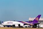 菊池 正人さんが、成田国際空港で撮影したタイ国際航空 A380-841の航空フォト(写真)