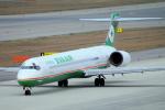 yabyanさんが、中部国際空港で撮影したエバー航空 MD-90-30の航空フォト(写真)