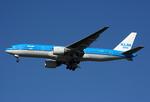 VQ-BELさんが、ジョン・F・ケネディ国際空港で撮影したKLMオランダ航空 777-206/ERの航空フォト(写真)
