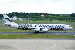 Spot KEIHINさんが、成田国際空港で撮影したフィンエアー A340-313Xの航空フォト(写真)