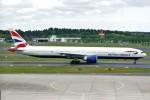 Spot KEIHINさんが、成田国際空港で撮影したブリティッシュ・エアウェイズ 777-36N/ERの航空フォト(写真)