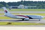 Spot KEIHINさんが、成田国際空港で撮影したマレーシア航空 737-8H6の航空フォト(写真)