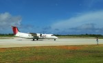 hiro-takaさんが、南大東空港で撮影した琉球エアーコミューター DHC-8-314 Dash 8の航空フォト(写真)
