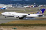LSGさんが、仁川国際空港で撮影したユナイテッド航空 747-422の航空フォト(写真)