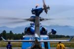 アミーゴさんが、松本空港で撮影した長野県警察 AW139の航空フォト(写真)