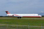 Dreamer-K'さんが、秋田空港で撮影した遠東航空 MD-83 (DC-9-83)の航空フォト(写真)