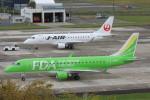 korosukeさんが、南紀白浜空港で撮影したフジドリームエアラインズ ERJ-170-200 (ERJ-175STD)の航空フォト(写真)