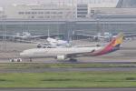 yuu-kiさんが、羽田空港で撮影したアシアナ航空 A330-323Xの航空フォト(写真)