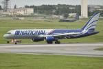 kon chanさんが、嘉手納飛行場で撮影したナショナル・エアラインズ 757-28Aの航空フォト(写真)