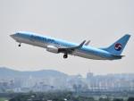 こじゆきさんが、金浦国際空港で撮影した大韓航空 737-8Q8の航空フォト(写真)